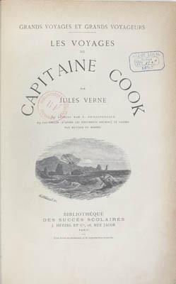 Les voyages du Capitaine Cook (1896)