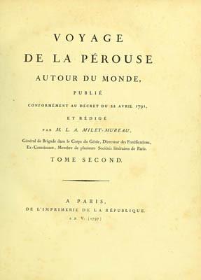 Voyage de La Pérouse autour du monde – Tome second (1797)