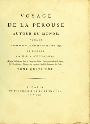Voyage de La Pérouse autour du monde – Tome quatrième (1797)