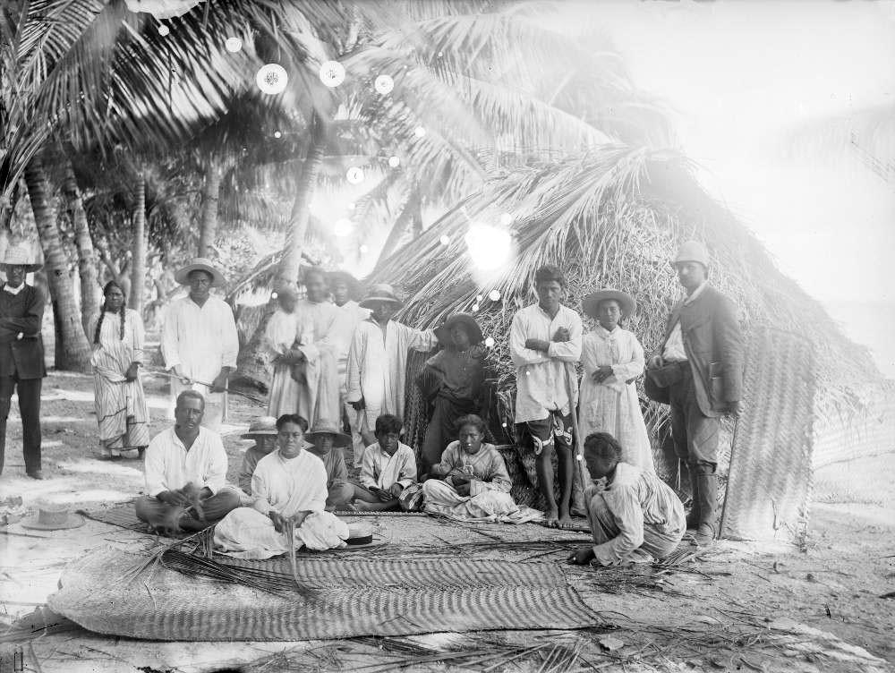 Tufannimie, Penpotu, Mapu & famille à Fakarava (1884)
