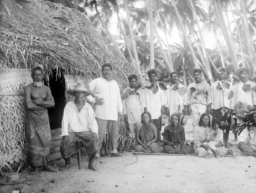 Habitants de Fakarava – Hjalmar Stolpe (1884)