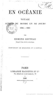En Océanie – Voyage autour du monde en 365 jours 1884-1885 (1888)