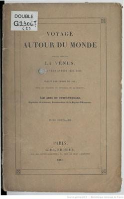 Voyage autour du monde sur la frégate la Vénus 1836/1839 – Tome 2 (1841)