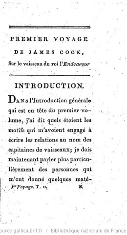 Relation d'un voyage fait autour du monde par James Cook (1817)