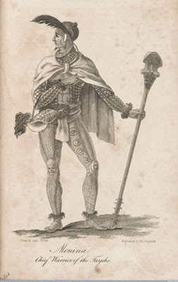 Mouina, chief warrior of the Tayehs (1815)