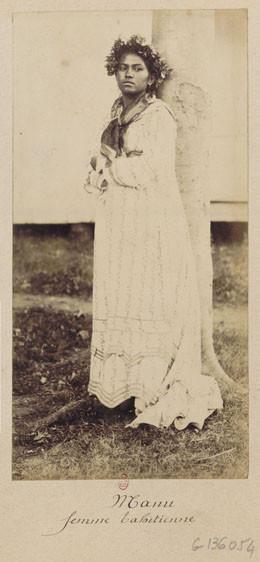 Manu, femme tahitienne (1881-1887)