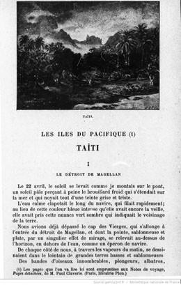 Les îles du Pacifique : Taïti (1898)