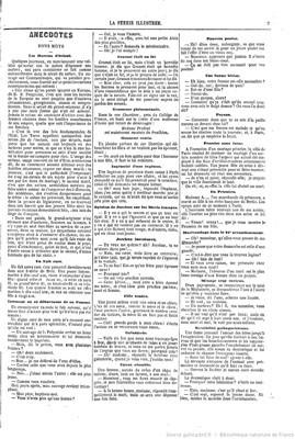 Anecdotes – Bons mots : Comment on se débarrasse de sa femme – La Féérie illustrée (1860)