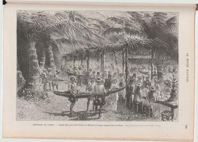 Tahiti et la reine Pomaré (1877)