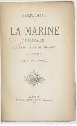Histoire de la marine française (1879)