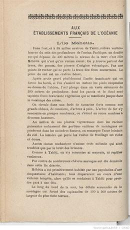 L'île Mehetia (1926)
