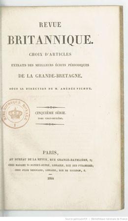 Taïti, histoire naturelle et politique – Revue britannique – Partie II (1844)