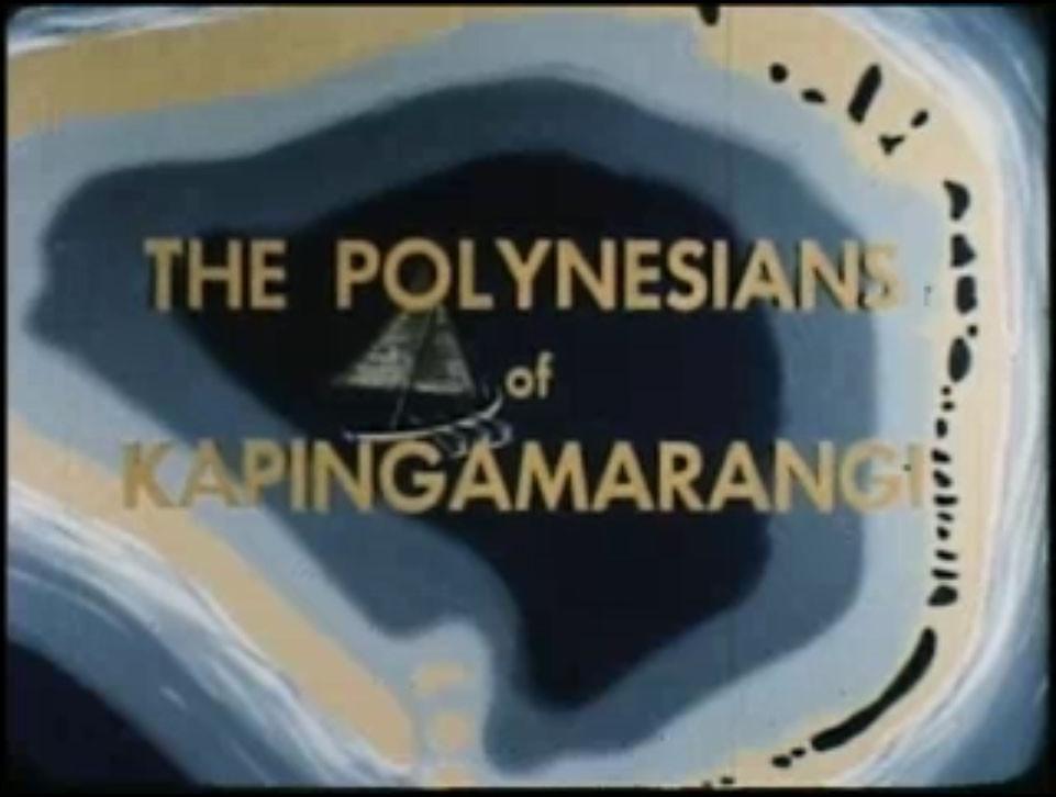 Polynesians of Kapingamarangi – Partie 2 (1947-1950)