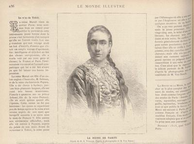 La Reine de Tahiti (1884)