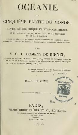 Océanie ou cinquième partie du monde. Tome 2 (1836)