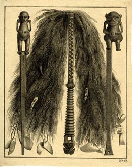 Objets cérémoniels de Tahiti (1773)