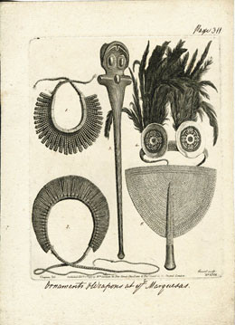 Ornements et armes des Marquises (1777)