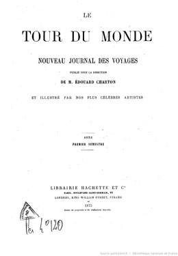 Le tour du monde : nouveau journal des voyages (1875)