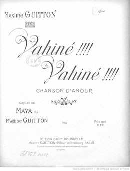 Vahiné ! Vahiné !  (1916)