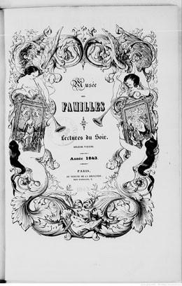 L'île de Taïti – Musée des familles : lectures du soir (1843)