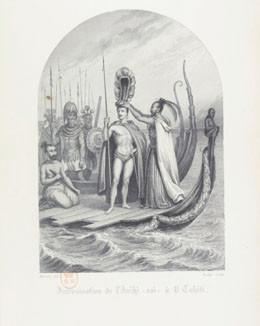 Intronisation de l'Arii à O Tahiti (1845)