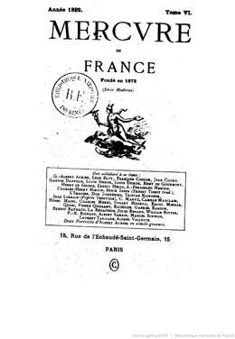 Choses d'art : Vahine no te tiare (1892)