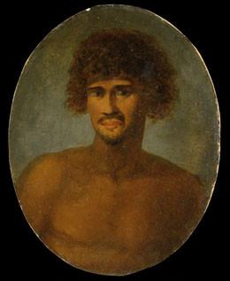 Tu (appelé Otoo par Cook), Roi Pomare I de Tahiti (1777)