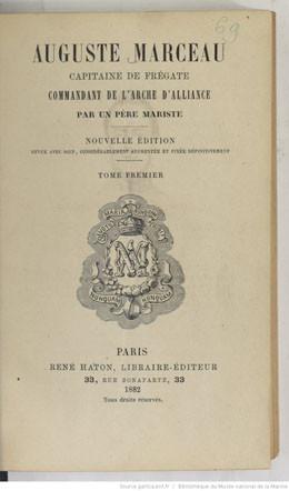 Auguste Marceau, capitaine de frégate, commandant de l'Arche d'alliance – Tome 1