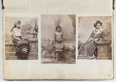 Portraits de Tahitiens – Reminiscences of Tahiti – Society Islands – during a six week's visit (1887)