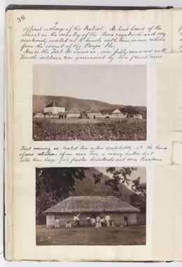 Le fort de Taravao – Reminiscences of Tahiti – Society Islands – during a six week's visit (1887)