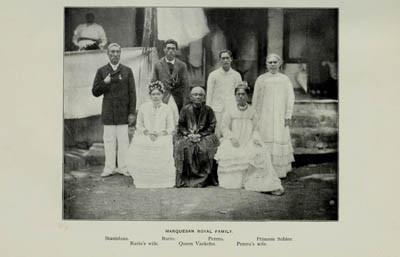 Famille royale marquisienne de Nuku Hiva (avant 1901)