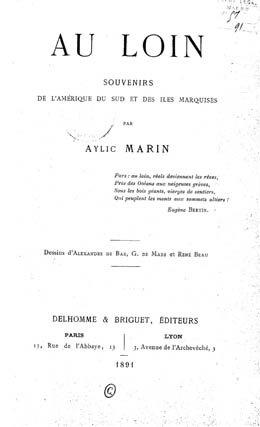 Au loin : souvenirs de l'Amérique du Sud et des Îles Marquises (1891)