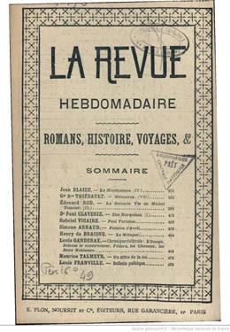 Notes de voyage – Iles Marquises – Partie I (1894)