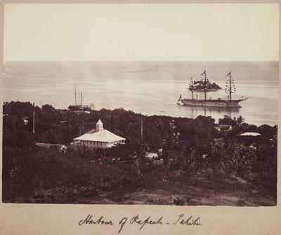 Port de Papeete – Tahiti (1885-1900)
