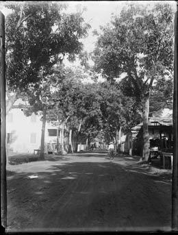 Rue de Papeete en 1917