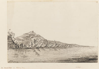 Flotte de Otaheite à Appany Bay – William Hodges (1774)