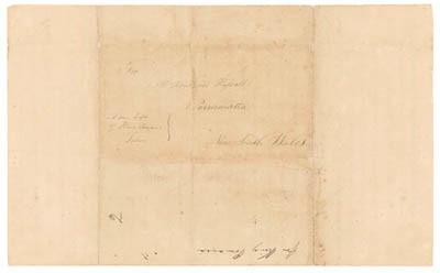 Rowland Hassall – Lettre reçue de Pomare II – 3 juillet 1817