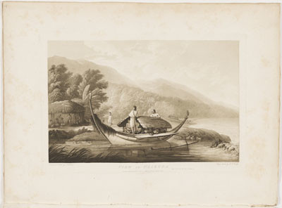View in Ulietea – John Webber (1787)