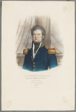 Portrait de J.S.C. Dumont D'Urville (1839)