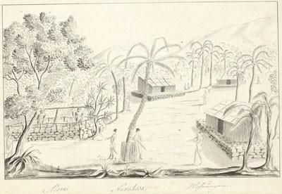 Elamud Nuku Hiva saarel – Maisons de Nuku Hiva (1803/1806)