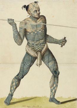 Nuku Hiva sodalane – Guerrier de Nuku Hiva (1803/1806)