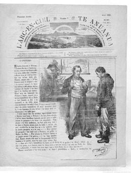 L'Arc-en-ciel : journal populaire d'éducation intellectuelle, morale et religieuse – N°7 – août 1886