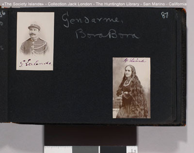 Le gendarme de Bora Bora – Album photos de Jack London (1908)