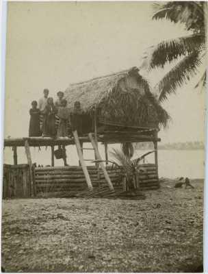 Maison traditionnelle en bord de mer