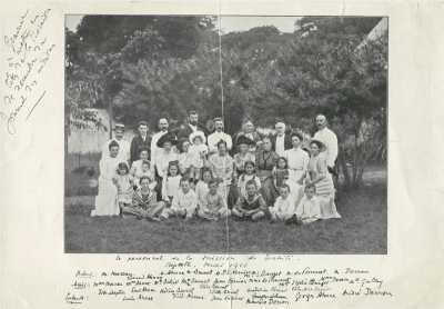 Personnel de la Mission de Tahiti – Papeete (1911)