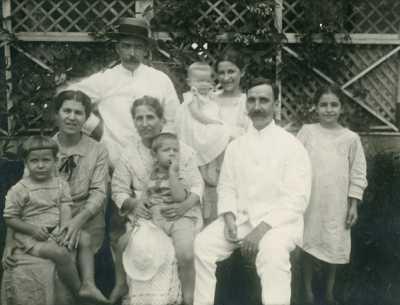 Famille du pasteur Charles Vernier