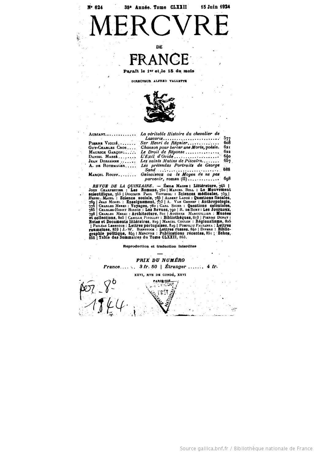 Les Saints mutins de Pitcairn – Jean Dorsenne (1924)