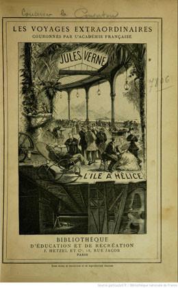 L'île à hélice de Jules Verne (1895)