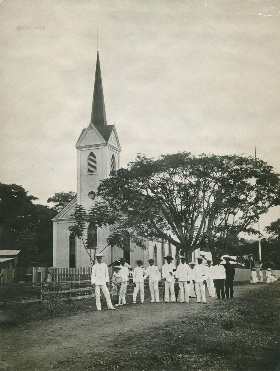 Le temple de Papeete (1920/1930)