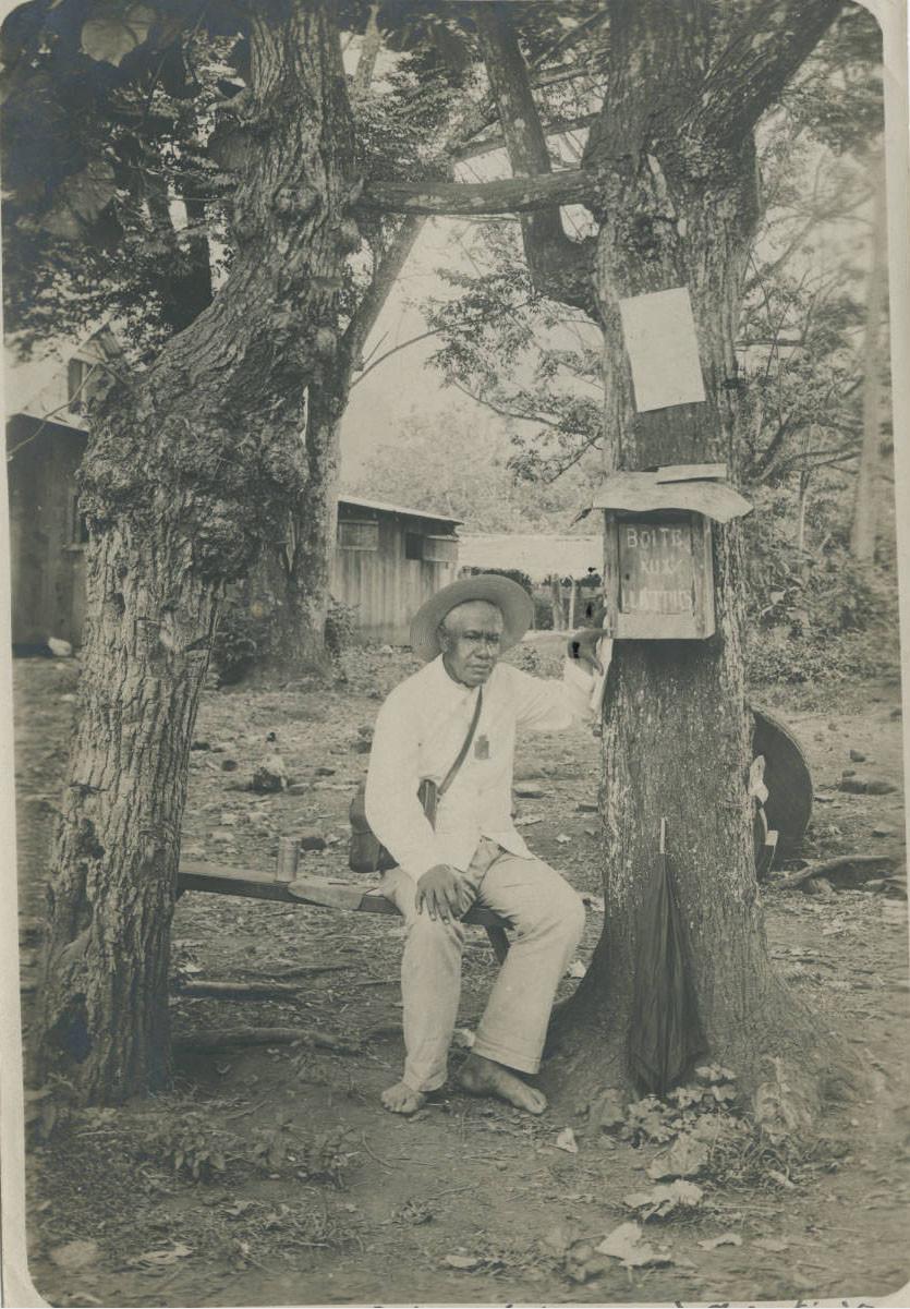 Un facteur à Tahiti (1905)